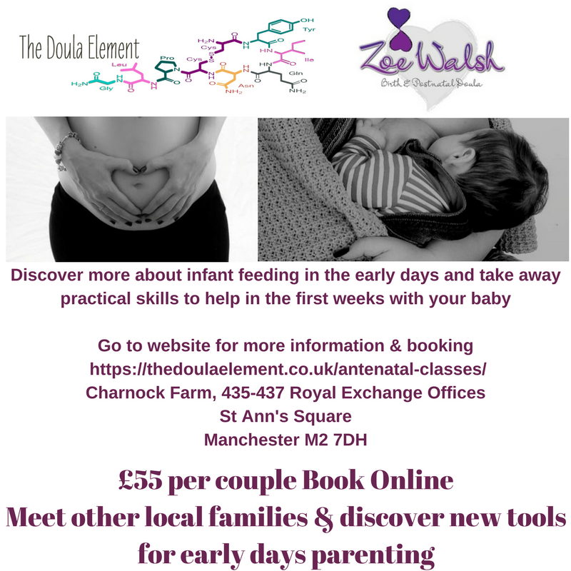 breastfeeding workshop manchester